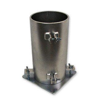 """Steel Cylinder Mold 4"""" x 8"""""""
